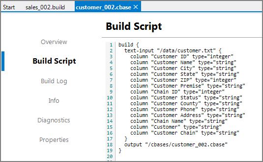 Using the cBase Viewer