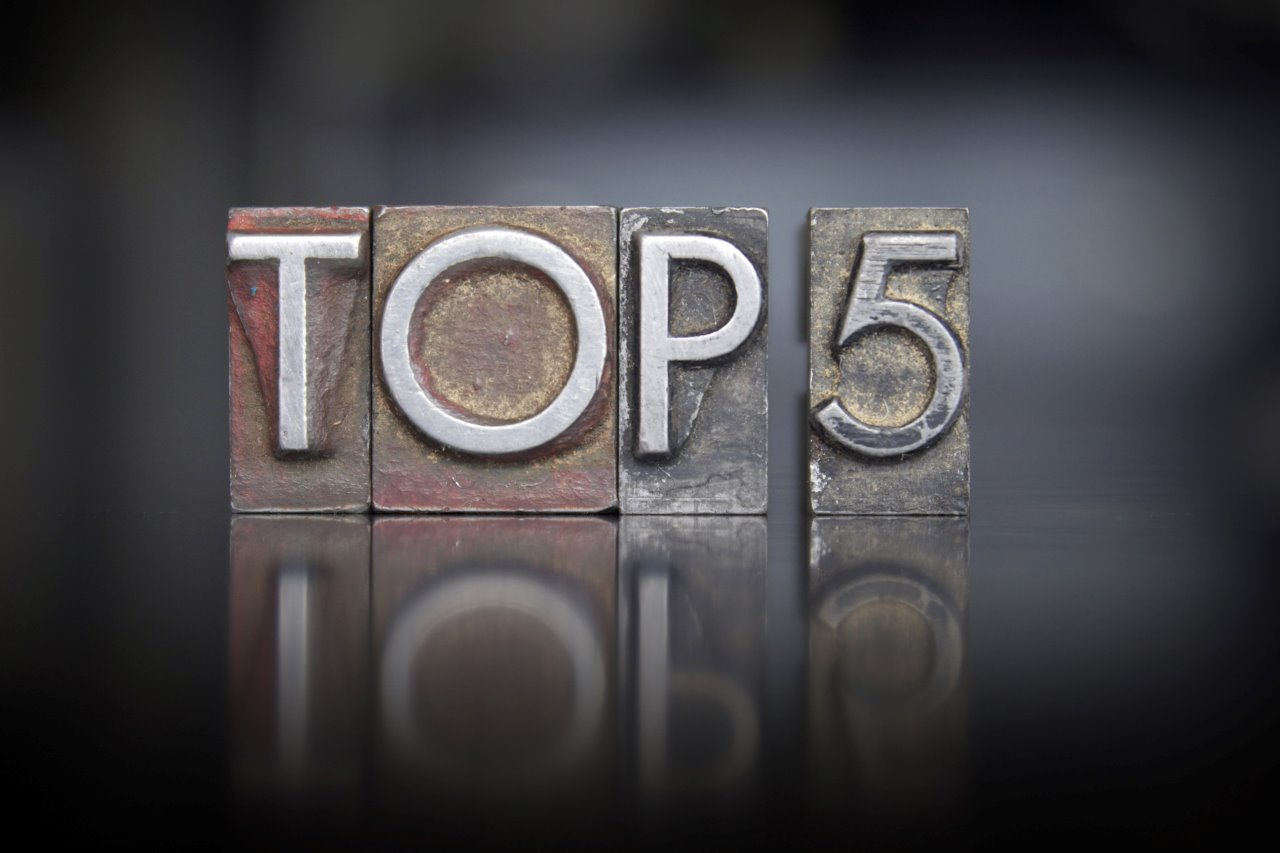 top 5 blog posts 2014 by popularity