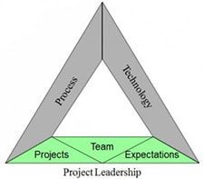 Figure 2: The components of project leadership