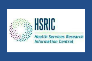 Logo for Health Services Research Information Central (HSRIC)