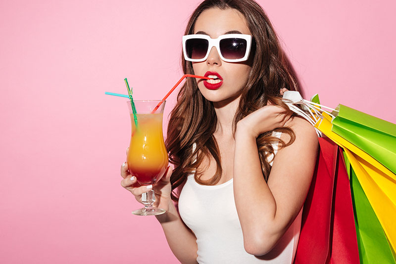Sipping and Shopping: Stores are Offering Drinks to Customers to Increase Sales