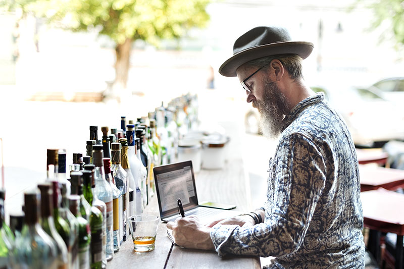 Data's Role in Starting a Spirits Brand Without a Distillery